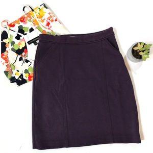 Biden purple knit pencil skirt Size 2 Regular